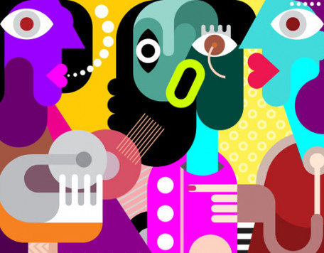 Mind 29 Abstract People