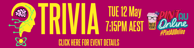 Trivia Tuesday 12 May 7:15PM AEST - Click here for details